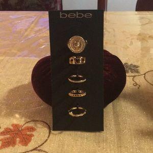 NWT bebe rings